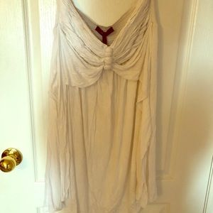 BCBG brand new over the swimming suit dress
